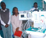 Anaesthesia machine at Kericho General Hospital